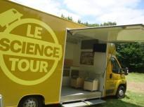 Le Science Tour : le camion des Sciences des Petits dDbrouillards