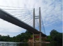 Conférence sur le pont de l'Oyapock