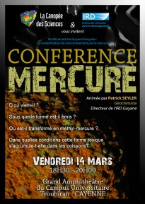 AFFICHE_CONFERENCE_MERCURE_CAYENNE_CANOPEE_DES_SCIENCES