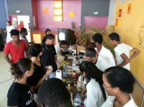Fête de la sicence à Cayenne : Cuisine moléculaire