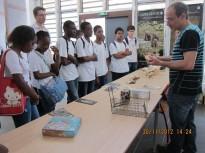 Fête de la Science à Cayenne : Stand«La génétique comme outil pour la connaissance de l'histoire et la diversité de la faune amazonienne»