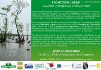 Fête de la Science en multisites : Projection «Guyane, mangroves et migrateurs»