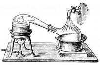Fête de la Science à Kourou : Stand d'animation et d'expérience «Distillation d'huile essentielle»