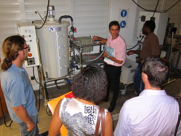 Visite au Lycée LAMA PREVOT : BTS Métier de l'eau