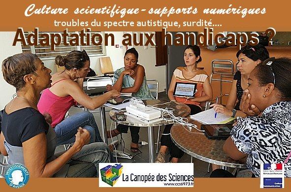 Autisme, adaptation au handicap, supports numériques… GDI-Numlab et CSTI !