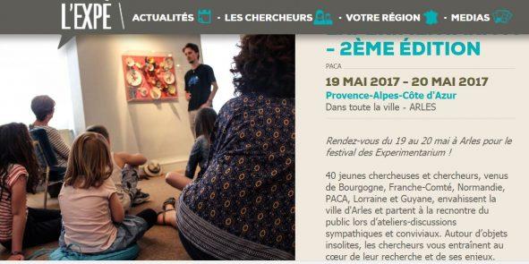 Capture EXPE DAYS 19 et 20 mai 2017 Arles