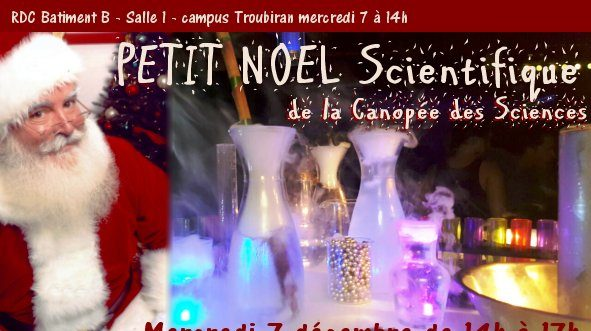 Petit Noël Scientifique à l'Université