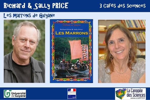 Richard et Sally PRICE, 3 cafés des sciences