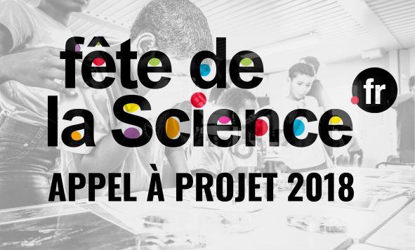 Appel à projet Fête de la science 2018
