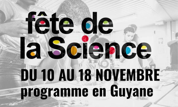 Fête de la science 2018 : programme