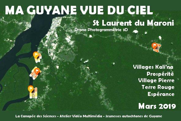 Ma Guyane Vue du Ciel 2.0