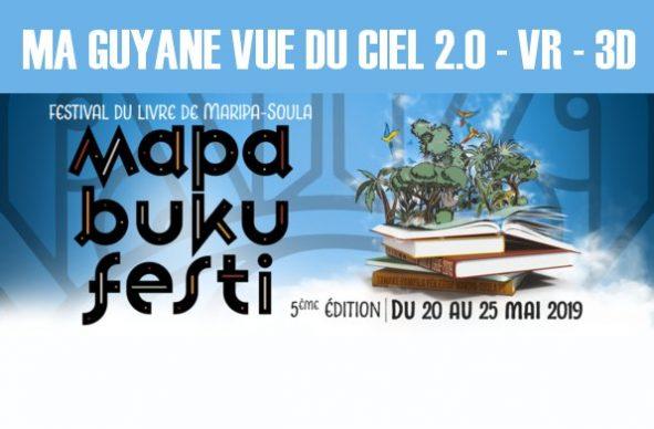 Ma Guyane vue du ciel au Mapa Buku Festi