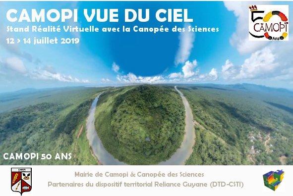 Ma Guyane Vue du Ciel : Camopi fête ses 50 ans !