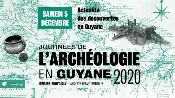 Les journées de l'archéologie en Guyane