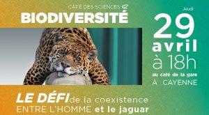 Café des Sciences - Biodiversité : Coexistence entre l'Homme et le jaguar