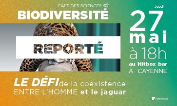 Café des Sciences – Coexistence entre l'Homme et le jaguar